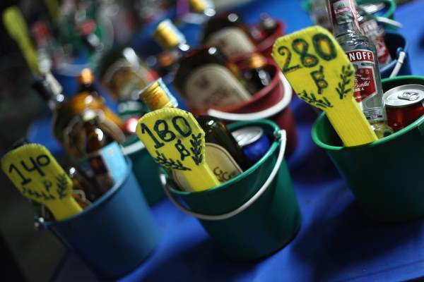 Ceny za alkohol v Thajsku