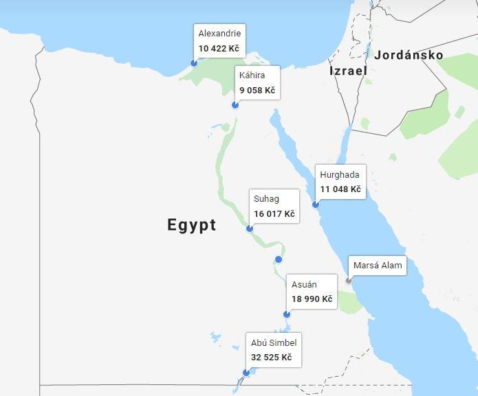 Mapa Egypta Pobrezi Na Mape Marsa Alam Hurghada