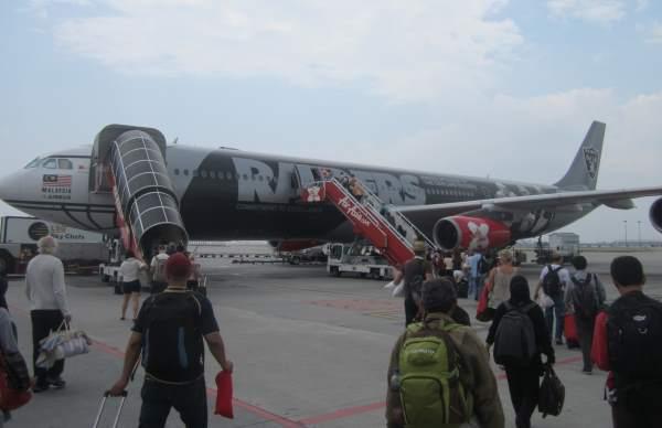 Let z Prahy do Thajska