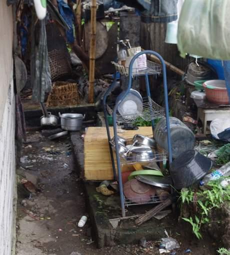 Levné jídlo v Thajsku se připravuje i zde