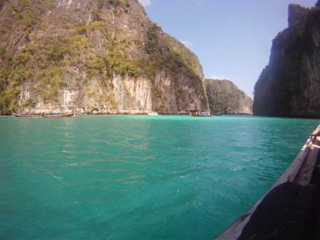 Výletní loď v Thajsku a krásné moře