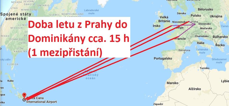 Doba-letu-z-Prahy-do-Dominikánské-republiky
