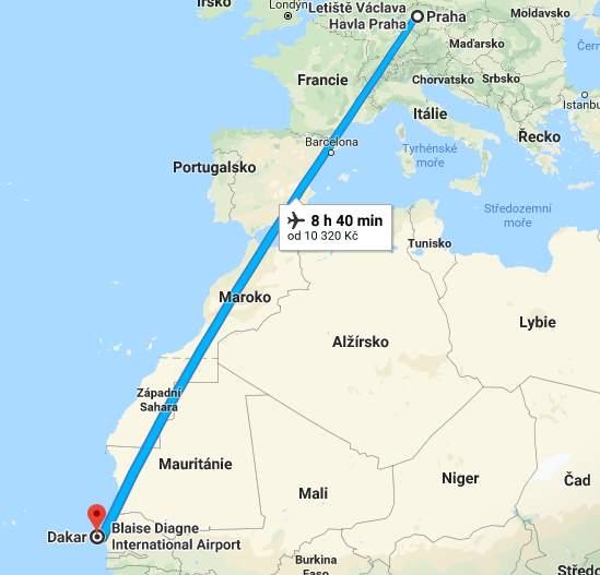 Doba-a-délka-letu-z-Prahy-do-Senegalu