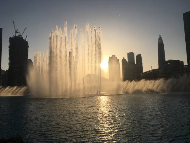 Dubaj-Fountin