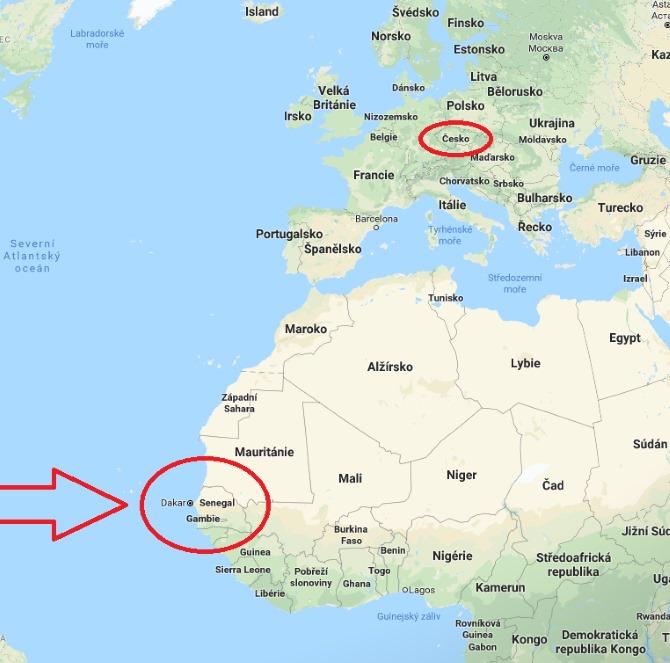 Kde-je-a-leží-Senegal-na-mapě