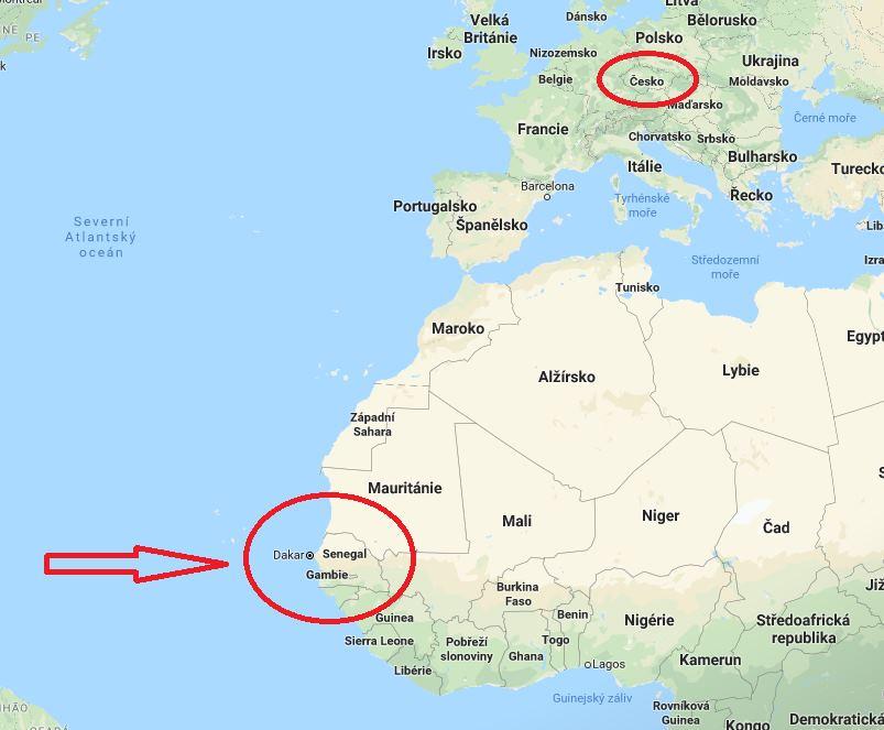 Kde-leží-Senegal-na-mapě-světa