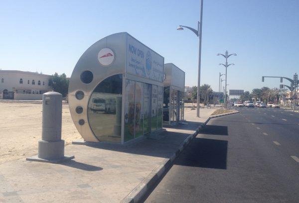 Klimatizované-autobusové-zastávky-v-Dubaji