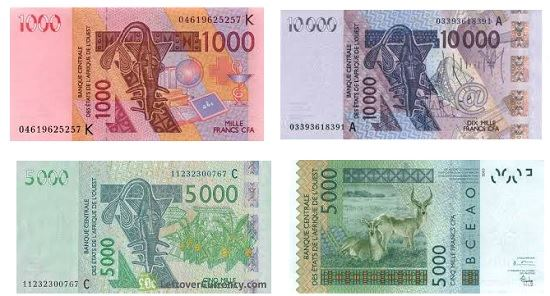 Měna-v-Senegalu