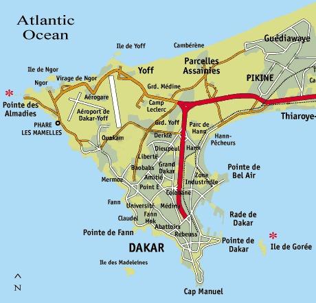 Mapa-Dakaru-Senegal
