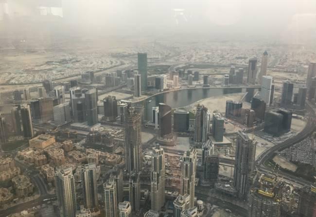 Pohled-na-Dubaj-z-Burj-Khalify