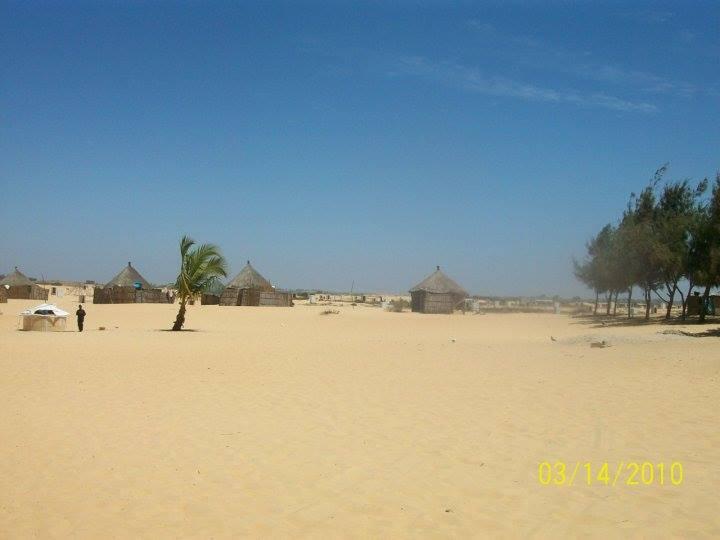 Poušť v Senegalu