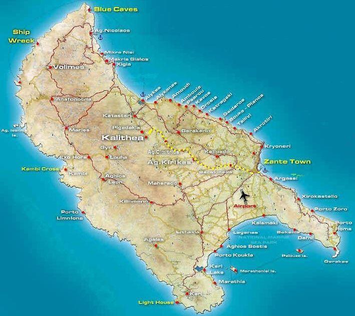 Pláže-na-ostrově-Zakynthos