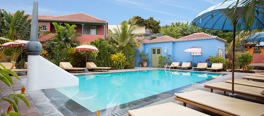 Bazén u hotelu Hacienda